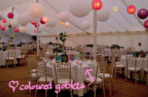 Funky marquee interiors weddings original