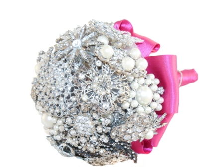 Wedding Ideas Bouquet Vintage Brooches 2012 2013