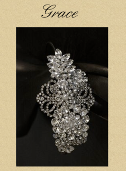 Silver Vintage Wedding Accessories