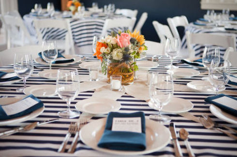 Wedding Ideas Tables Ship Sea