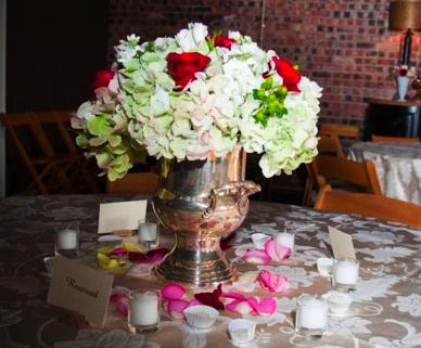 Wedding Centrepieces White