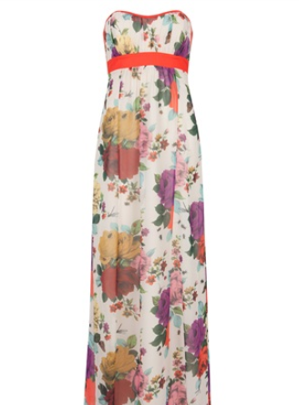 Bridesmaid Dresses Maxi Full Length Patterns Floral