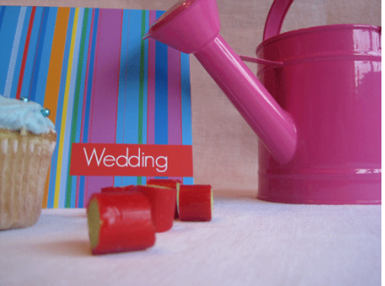 Wedding Invites Bright Colours Patterns 2012