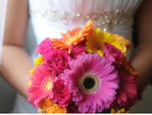 Wedding Gerbera Multicolour Bouquet