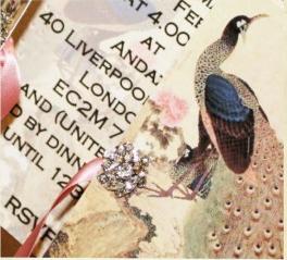 Animal Print Wedding Invites Peacocks