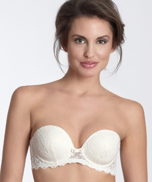 Strapless bra for wedding dress