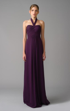 Bridemaids Dresses Purple 2012