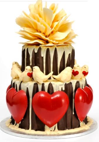 wedding cake ideas chocolate