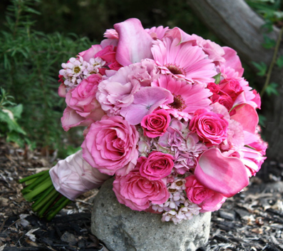 Bride Bouquet Pink 2012