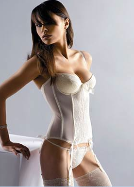 Wedding Underwear Strapless Basque Sexy
