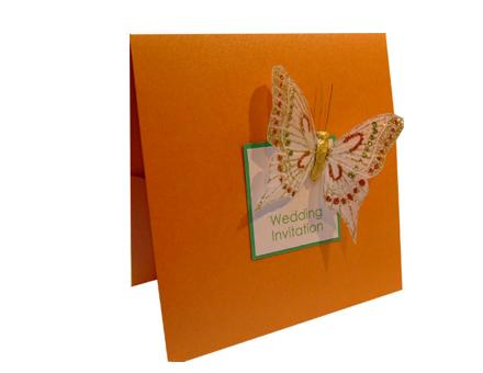 Wedding Stationery Animal Ideas Butterflies