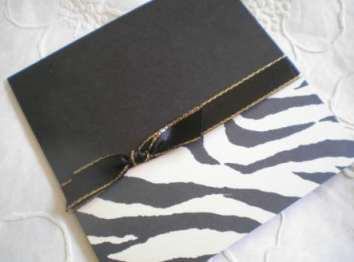 Wedding Stationery Ideas Animal Print