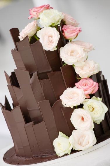 Ideas Chocolate Wedding Cakes