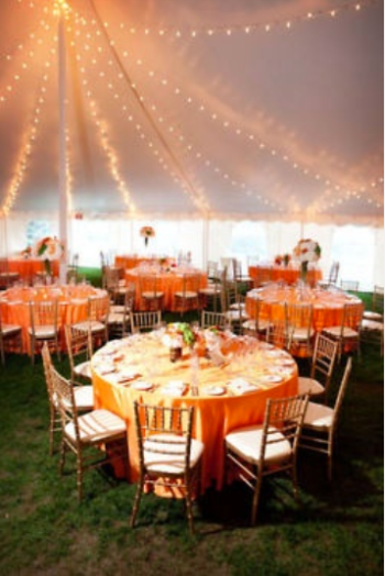 Marquee Interior Ideas Wedding