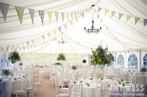 Marquee Inspiration Bunting Sunflowers