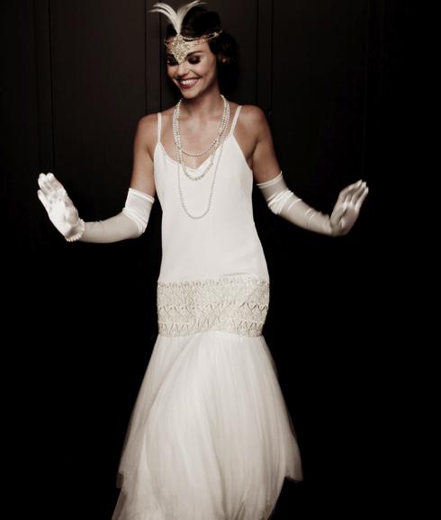 HUNTED: { Wedding Dress – Lindsay Fleming 20's style Wedding Dress ...