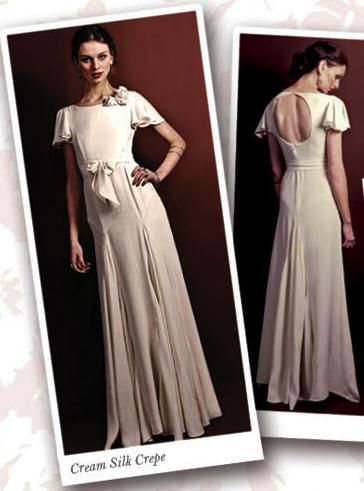 Bride Gown Vintage Back Detail