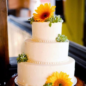 Wedding Cake Ideas Flowers