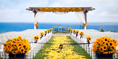 Summer Wedding Decor beach