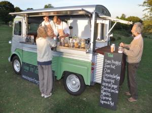 Wedding Ideas Tea Van