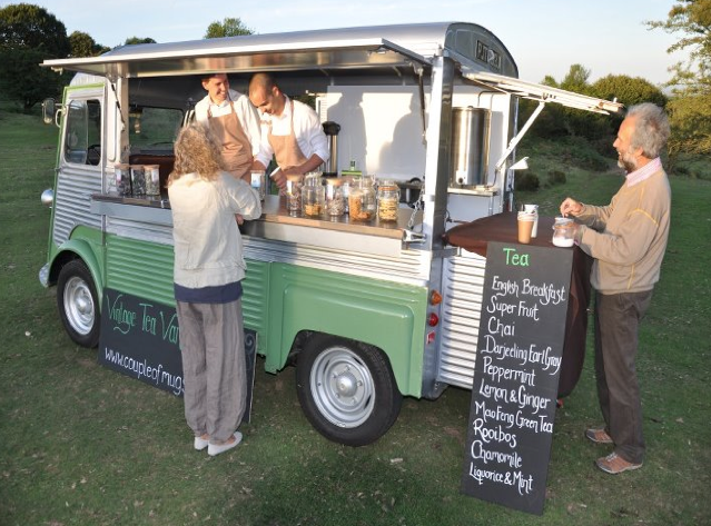 Wedding Ideas Tea Van