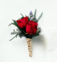 Boutonniere Inspiration Roses Wedding 2012 2013