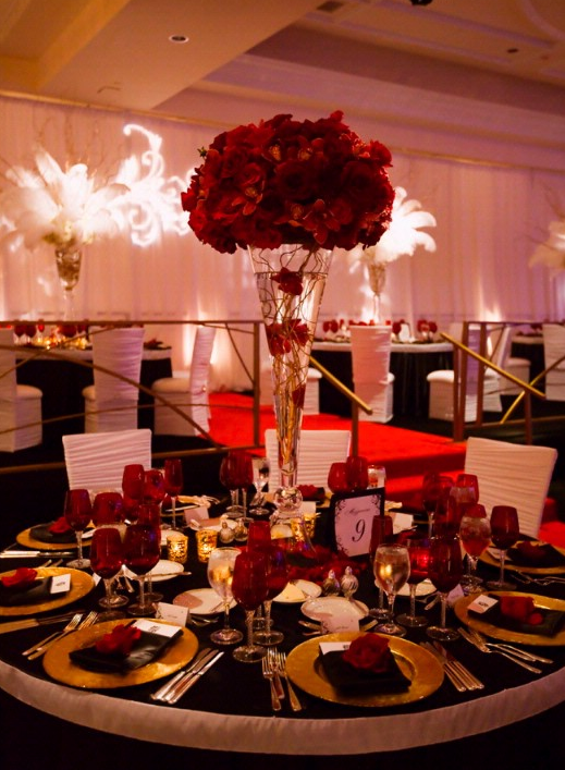 Keemas blog wedding decor ideas red roses or you can go the wedding decor ideas red roses or you can go the precise opposite of simple junglespirit Images