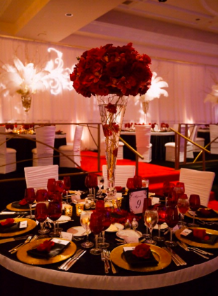 Wedding Decor Ideas Red Roses