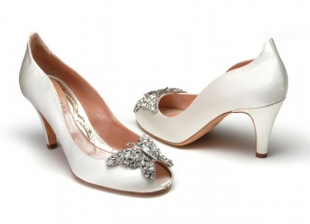 Wedding Heels Luxury Satin