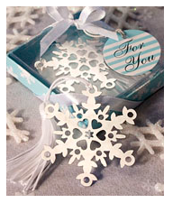 Wedding Favour Ideas Winter Wedding Snow