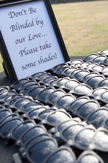 Wedding Shades Favours