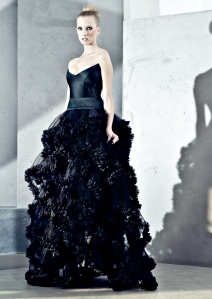 Bridal Fashion Black Gown