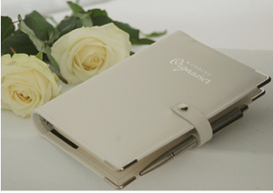 Wedding Leather Organiser Planner