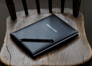 Leather Notebook Wedding
