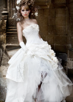 Wedding Dress French Marie Antionette Inspired