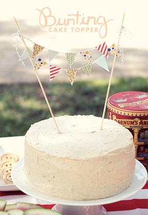 Fete Wedding Cake Ideas Flags Kitsch