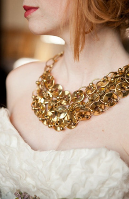 Gold Inspired Wedding Jewellery Accessories