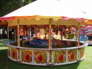 Wedding Inspiration Fairground Stall Tombola