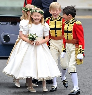 royal Wedding pageboy outfits