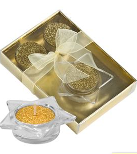 Wedding Ideas Gold Favours