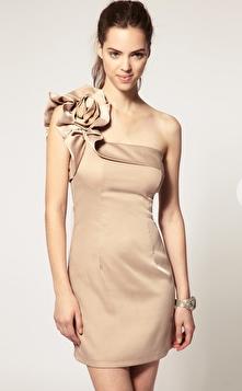 Bridesmaid dress short inspiration one shoulder