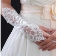 Bridal Glove 3/4 length Lace