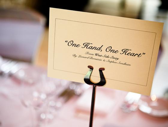 Hunted Wedding Stationery Wedding Table Name Ideas