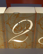 Wedding Inspiration Numbers Lamp