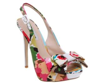 Bride Shoes Colour Fairground Style