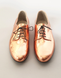 Gold Wedding Theme Idea Groomswear Shoes