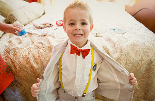 Wedding attendants outfits boys suits