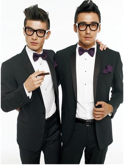 Wedding Grooms wear Tux Bowtie