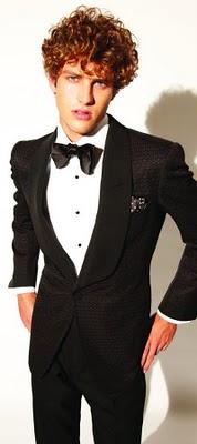 Groomswear Ideas Formal Tux Black White