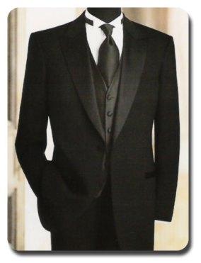 Groomswear Ideas Formal Black Tux
